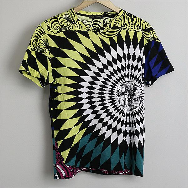 本日VERSACE ヴェルサーチ 13SSアーガイルメデューサTシャツをお買い取りさせて頂きました!!
