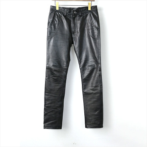 UNUSED 15SS Cow leather pants
