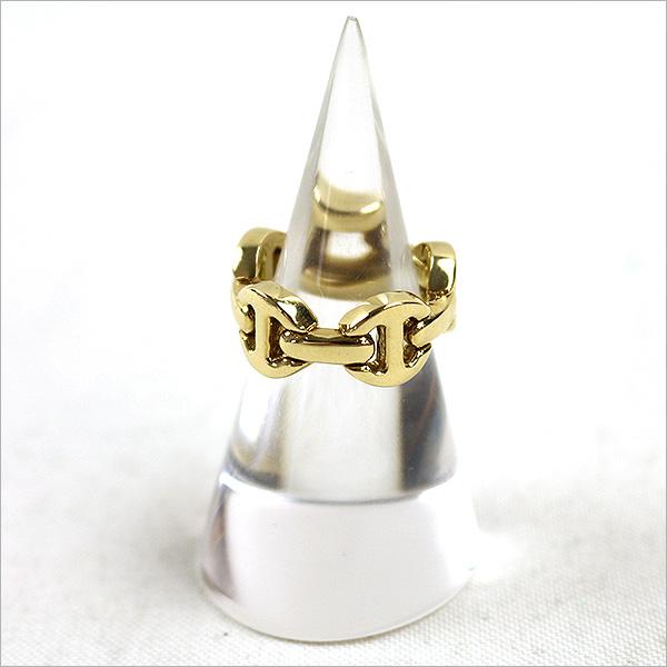本日HOORSENBUHS CLASSIC TRI-LINK RING 18Kをお買い取りさせて頂きました!!