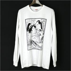 Supreme×Sasquatchfabrix. 春画プリントロングスリーブTシャツ