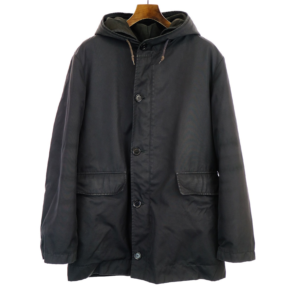 HELMUT LANG 3WAY Hooded Coat