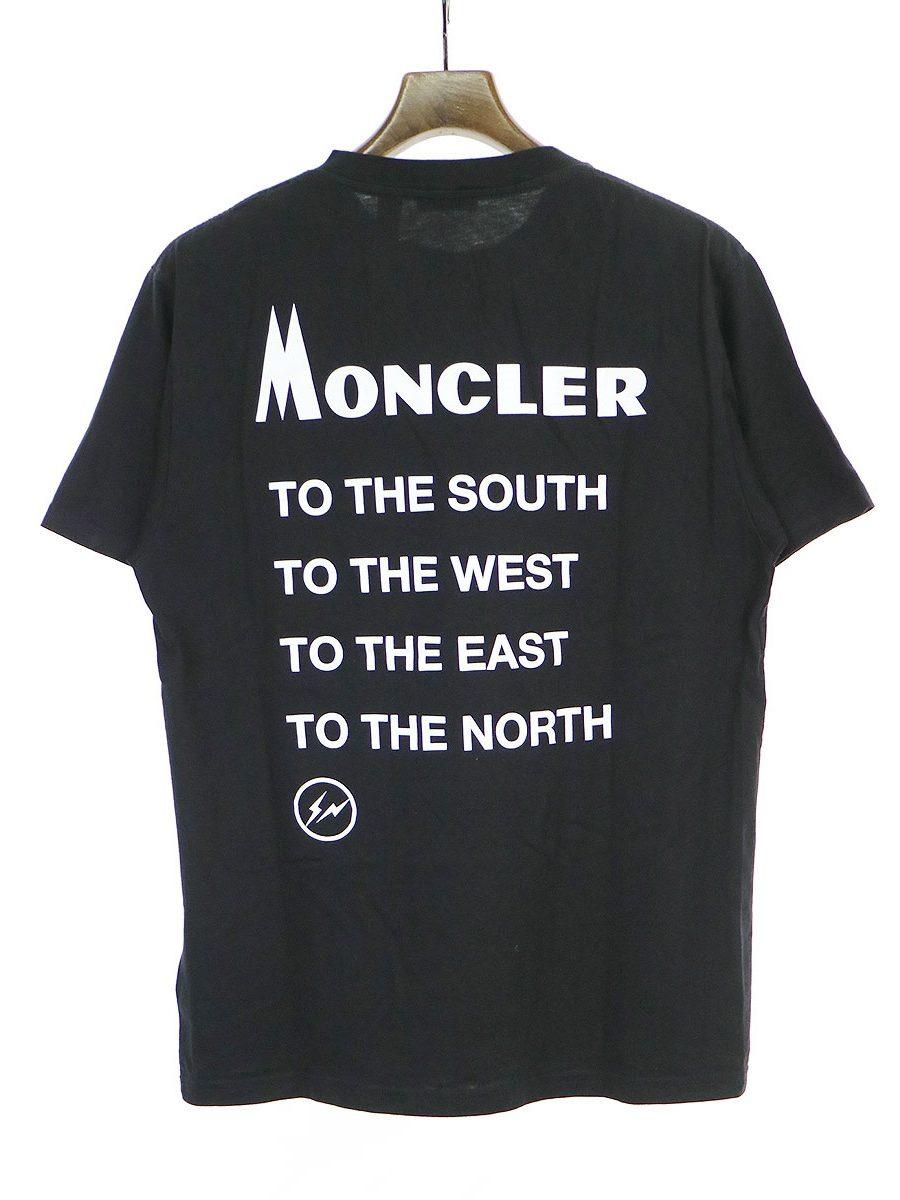 MONCLER GENIUS 18AW FRAGMENT HIROSHI FUJIWARA バックプリントTシャツ