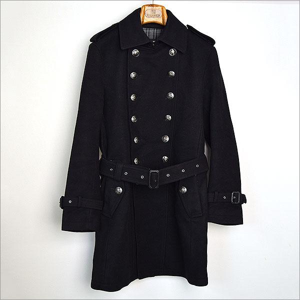 本日BURBERRY BLACK LABEL カシミア混ナポレオンコートをお買い取りさせて頂きました!!