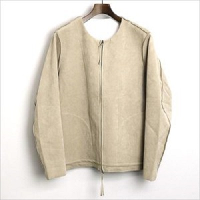 bukht 15AW Ultra Suede Reversible Blouson