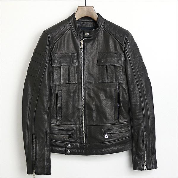 本日BALMAIN HOMME 12AW シープスキンレザーシングルライダースジャケットをお買い取りさせて頂きました!!