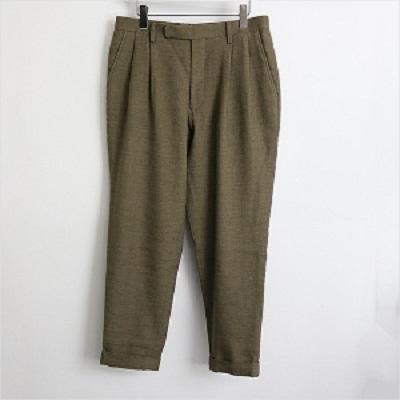 COMOLI 15AW Wool Linen 2tuck Pants