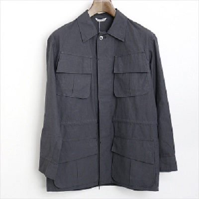 AURALEE 16SS Washed Finx Ripstop Fatigue Jacket