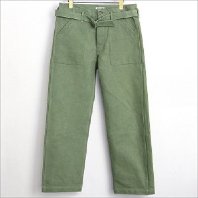 AURALEE 15AW Washed Double Cloth Pants