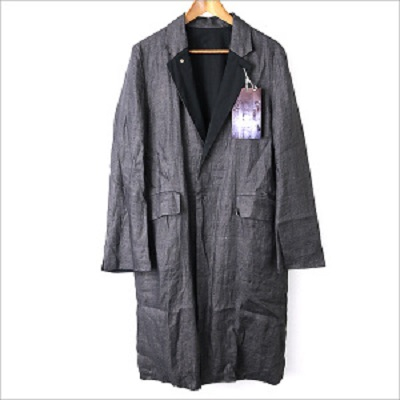 SUNSEA 16SS Reversible Speck Linen Coat