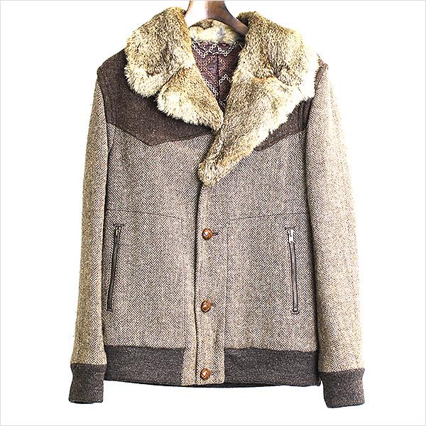 NUMBER NINE 02AW ジョージ期ラビットファーツイードジャケットを本日お買取させていただきました!! 近日中に楽天にも出品いたしますので、お楽しみに!!