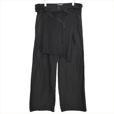 04SS RAF SIMONS Cotton Wide Pants