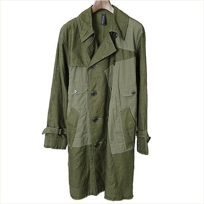 16SS MIHARA YASUHIRO Patchwork Military Coat