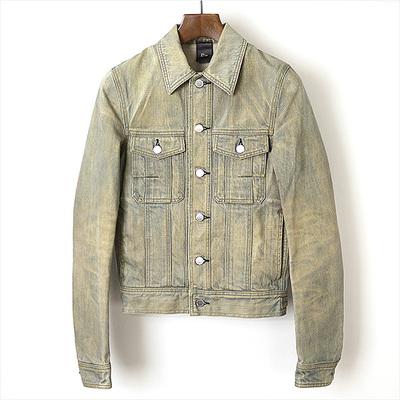 04SS Dior HOMME Ice Blue Denim Jacket