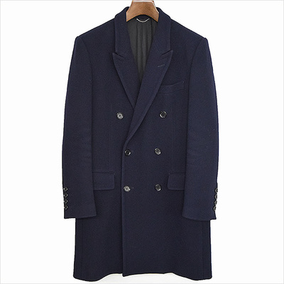 JOHN LAWRENCE SULLIVAN 14AW SUPER KERSEY DOUBLE CHESTERFIELD COAT