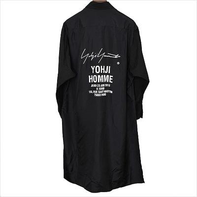 Yohji Yamamoto POUR HOMME 18SS Staff Shirt