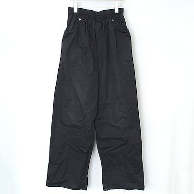 RAF SIMONS 03SS CONSUMED Cotton Easy Wide Pants
