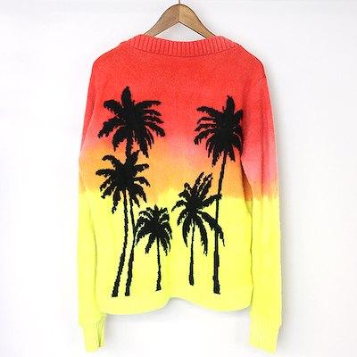 The Elder Statesman PALM TREE Regular Sweater