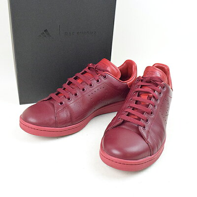 adidas by RAF SIMONS 18SS RS Stan Smith Core Burgundy Power Red