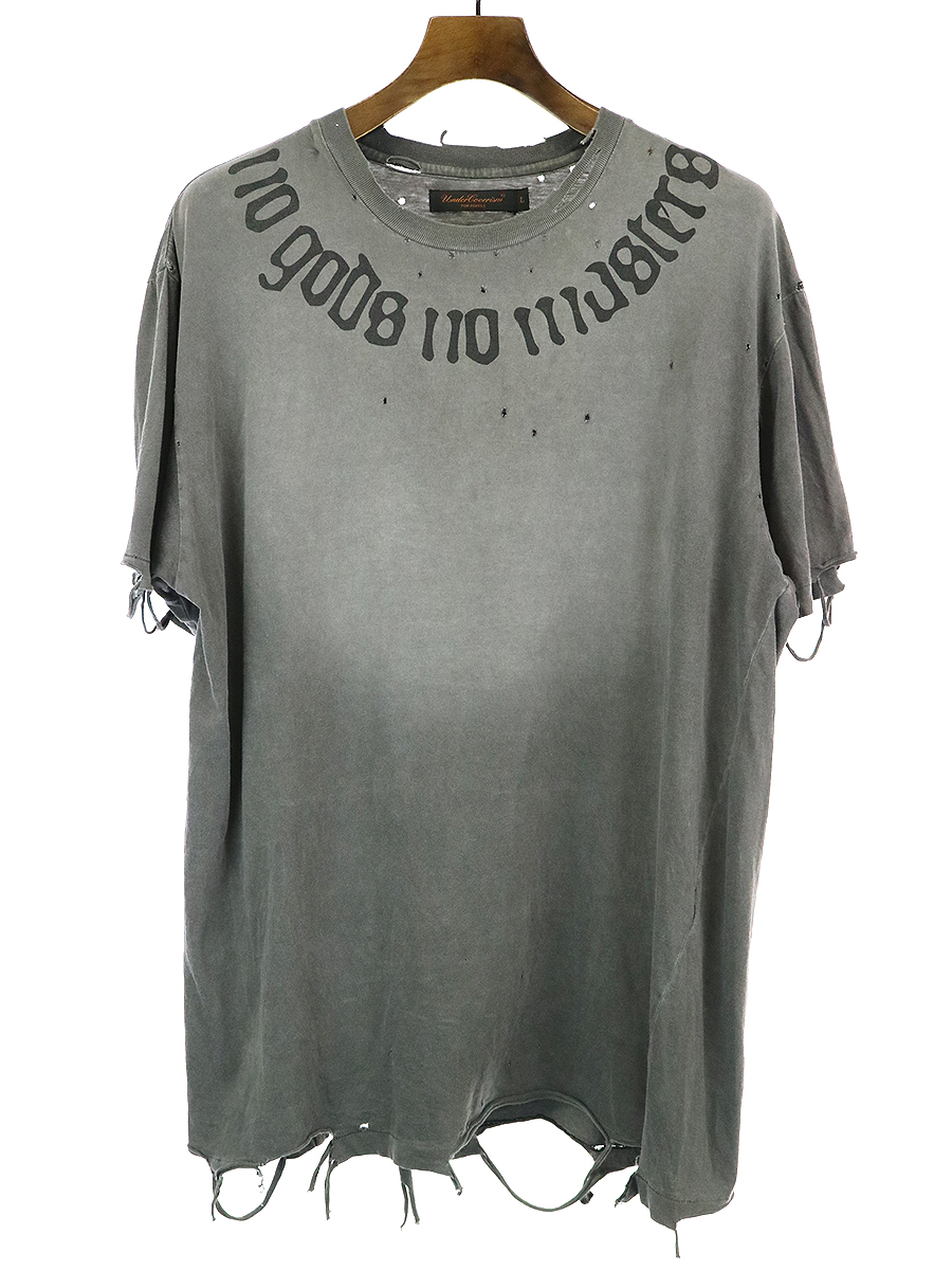 UNDERCOVERISM 03SS No Gods No Masters Tee