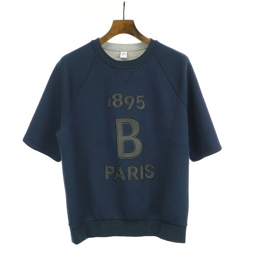 Berluti 19SS Leather Logo Patch Sweater