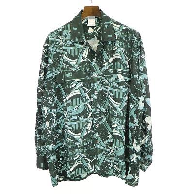 ISSEY MIYAKE MEN Open Collar Shirt