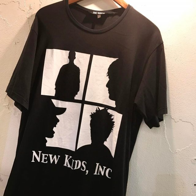 RAF SIMONS 03SS 消費者期 NEW KIDS INCプリントTシャツ