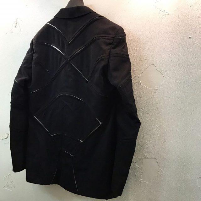 COMME des GARCONS HOMME PLUS 15AW 切り裂きデザイン2Bテーラードジャケット