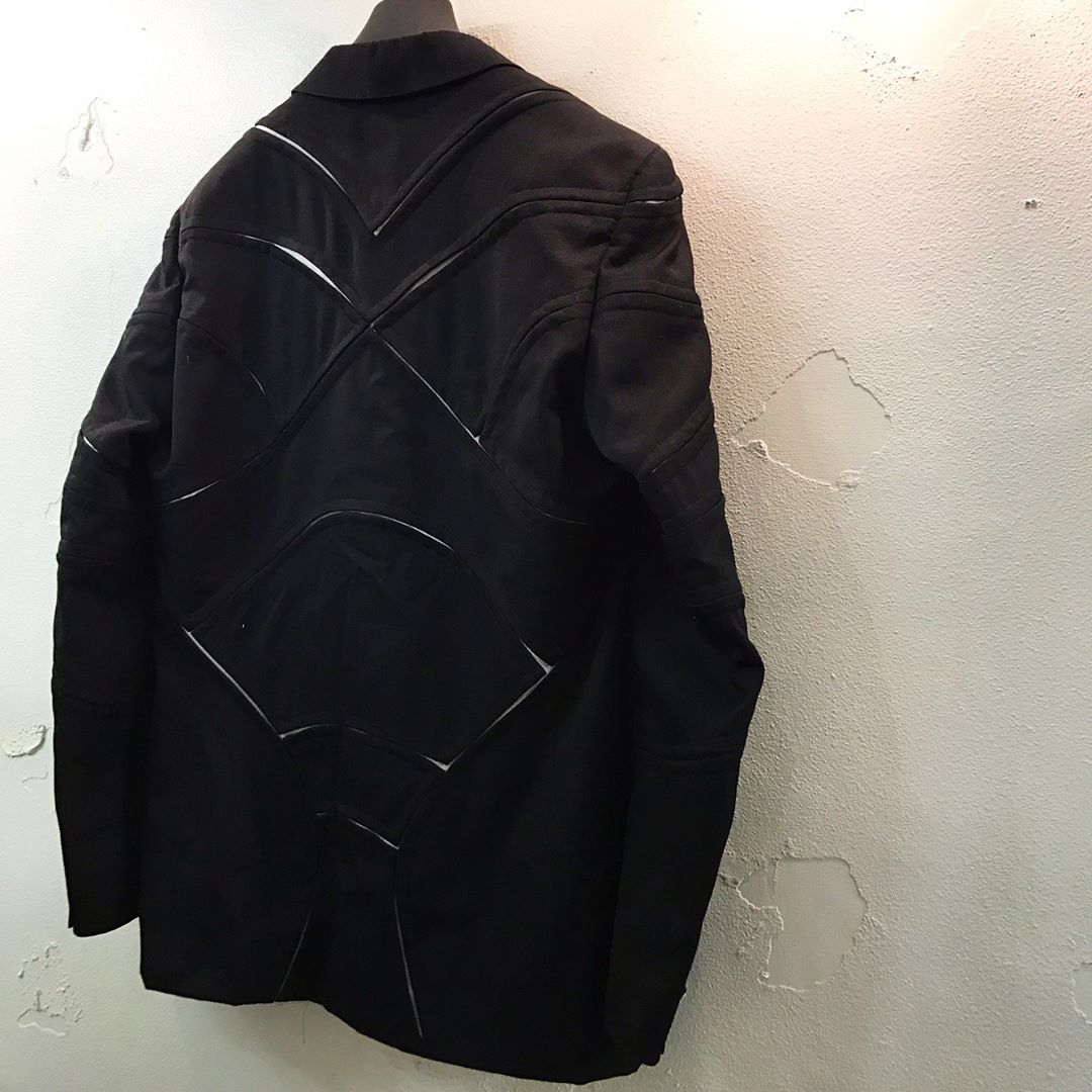 COMME des GARCONS HOMME PLUS 15AW 切り裂きデザイン2Bテーラードジャケット