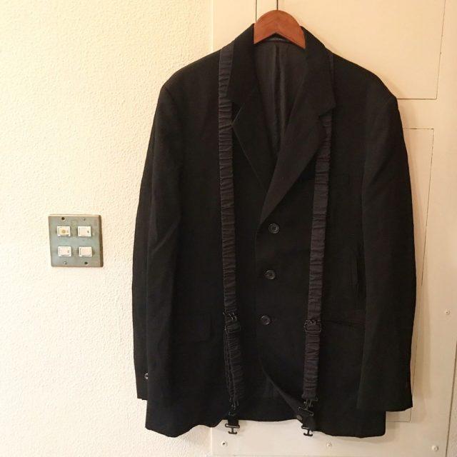 Yohji Yamamoto POUR HOMME 05AW ギャザーベルトバンテージ3Bジャケット