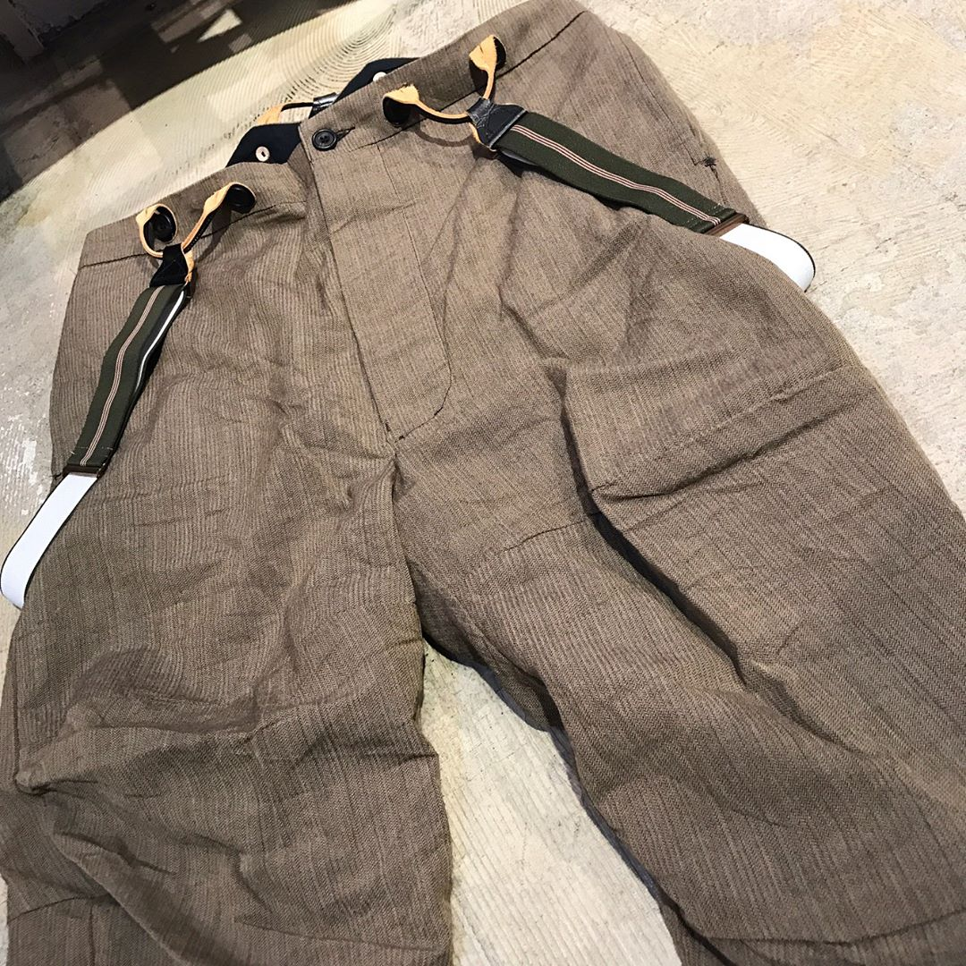 Paul Harnden suspender pants