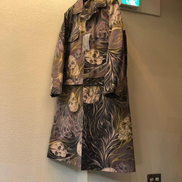 Yohji Yamamoto POUR HOMME 17AW スカルドレスファスナーコート