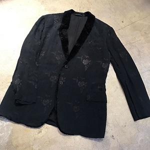 Yohji Yamamoto POUR HOMME 97AW 蝋人形期 花柄ジャガードジャケット