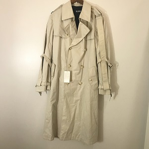 RAF SIMONS 02AW Virginia Creeper desin trench coat