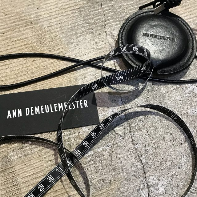 Ann Demeulemeester 17AW Leather Cover Major Necklace
