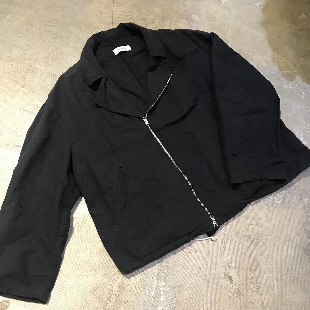 whowhat 16SS Cotton Linen Big Riders Jacket