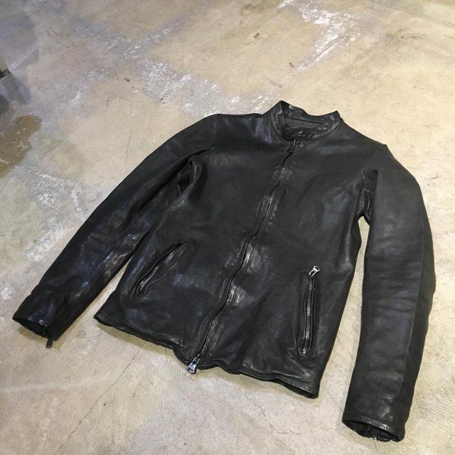 ISAMU KATAYAMA BACKLASH 18SS Leather Jacket