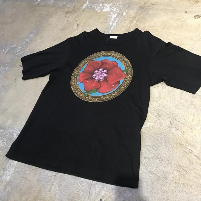 DRIES VAN NOTEN FLOWER PRINT TEE