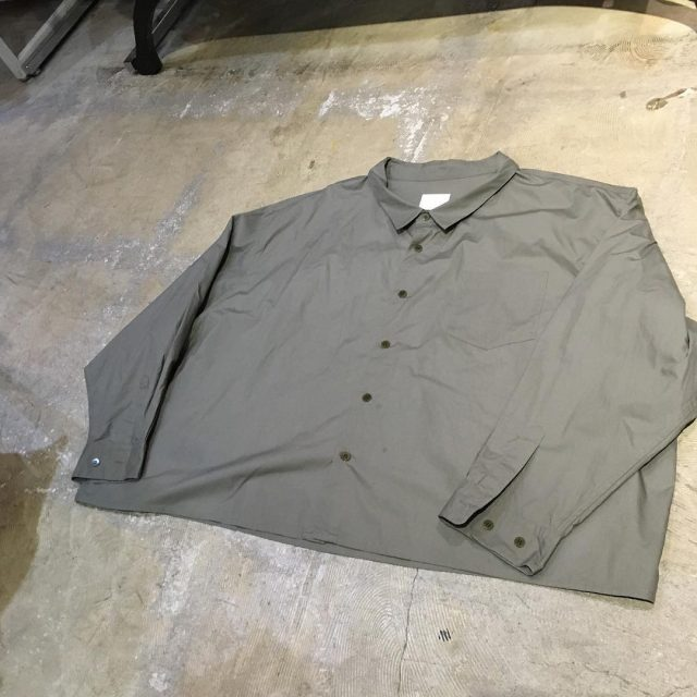 whowhat 17AW 5X SHIRT SHORT LENGTH
