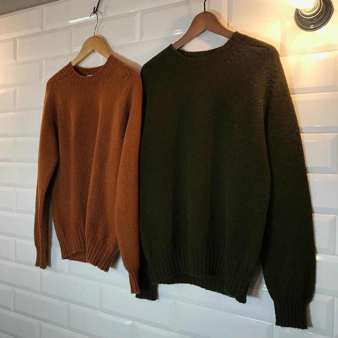 E.TAUTZ 18AW CORE FILD JUMPER by Jamieson's