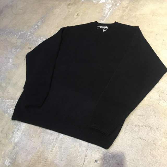 AURALEE 18AW BABY CASHMERE KNIT P/O