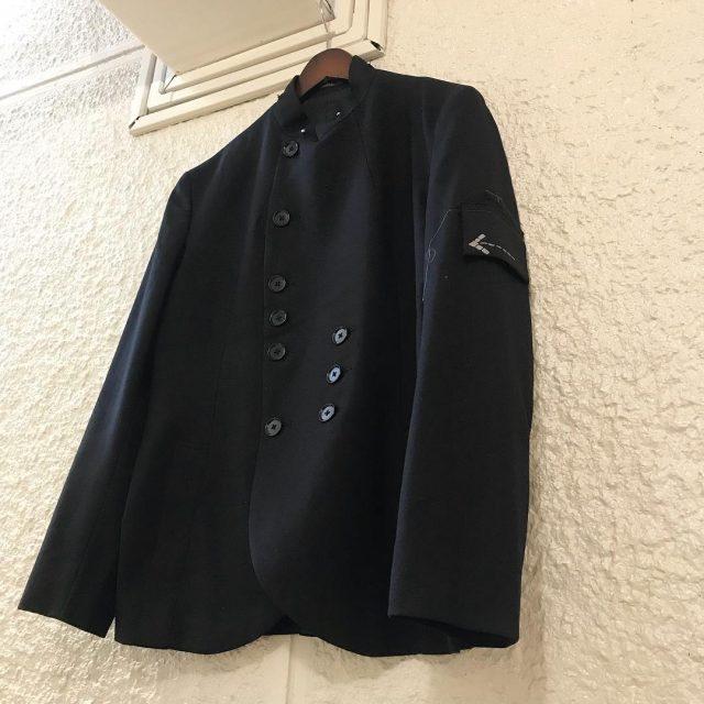 Yohji Yamamoto POUR HOMME 08AW 矢印ワッペンダブルブレストジャケット