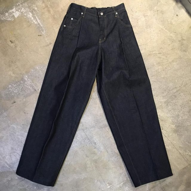 NEON SIGN 16SS WIDE DENIM SLACKS