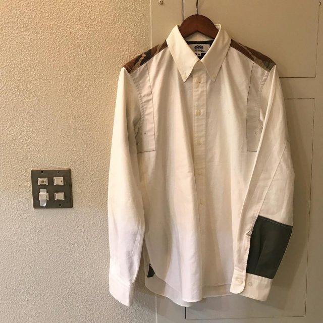 eYe COMME des GARCONS JUNYA WATANABE MAN × Brooks Brothers 14SS カモフラージュカスタマイズシャツ
