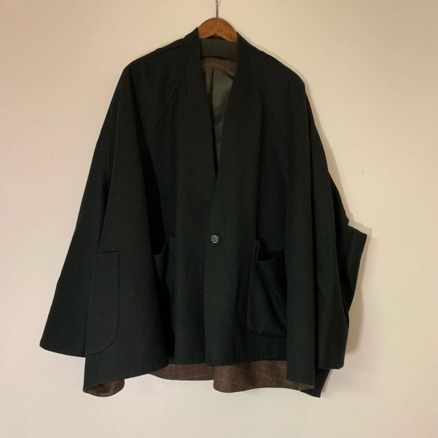 Ka na ta 17AW 2sleeve Jacket