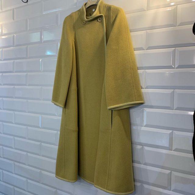 Chloe17AW Wide Sleeve Flared Coat