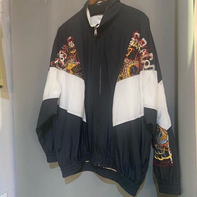 doublet 18SS BREAK UP EMBROIDERY TRACK JACKET