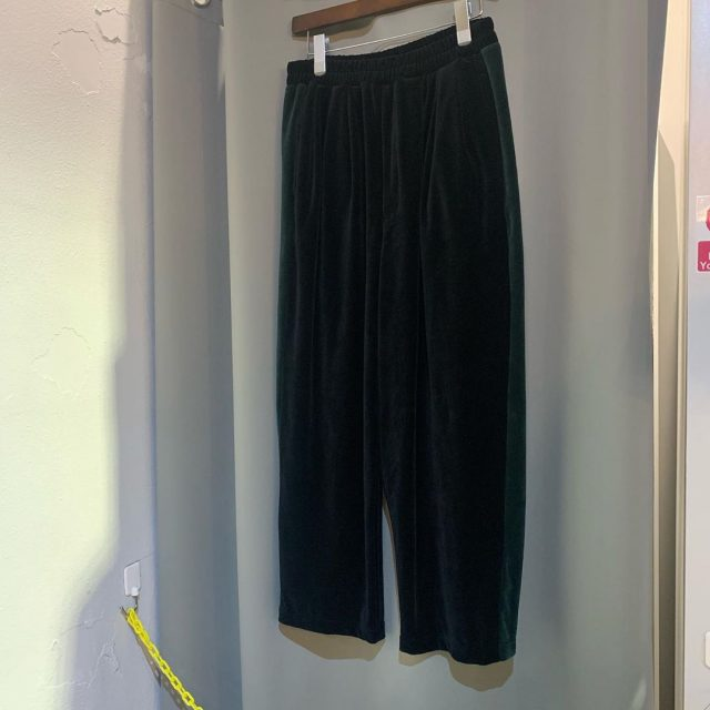 LAD MUSICIAN 19AW 3TUCK WIDE PANTS