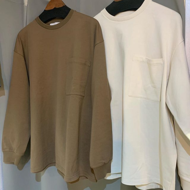 Graphpaper 19AW Heavy Weight L/S Oversized Tee
