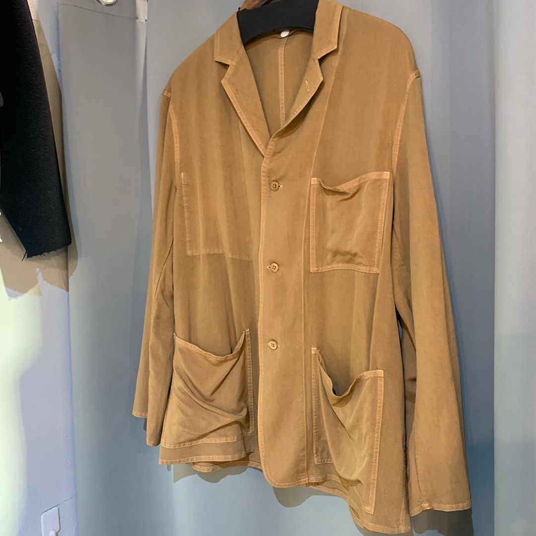 Graphpaper 19SS SOFT CUPRO JACKET