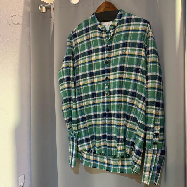GREG LAUREN 20SS CLASSIC STUDIO SHIRT